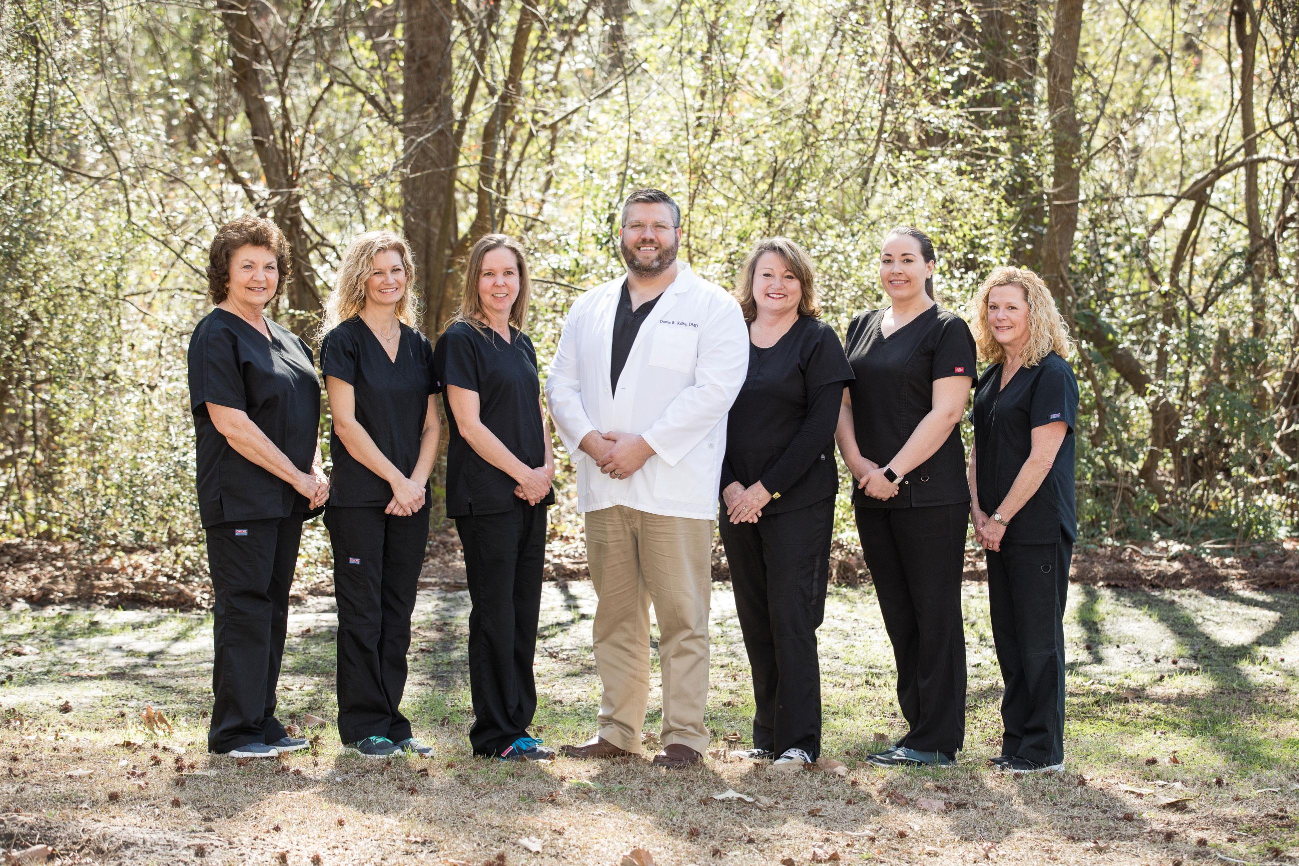 Dr. Kilby and Staff